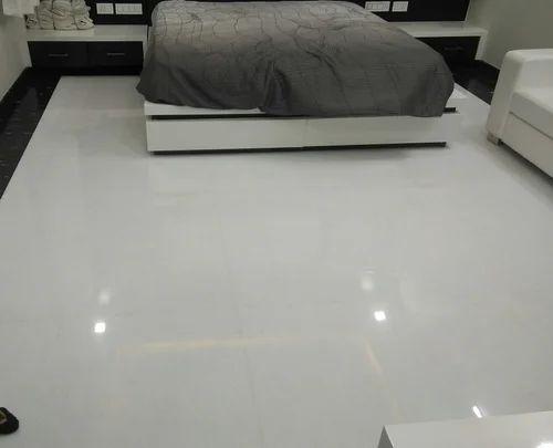 White Marble Flooring At Rs 45 Square Feet संगमरमर की