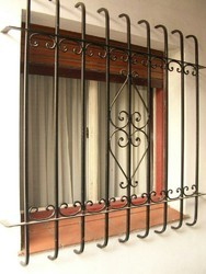 French Decorative Window Grill