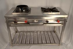 Single / Double / Triple Burner Cooking Range