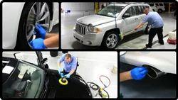Denting And Painting Repairs, Car