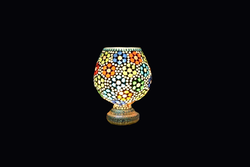 Colorful Glass Art Ware Lamp