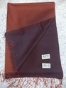 Pure Silk Twill Weave Reversible Stoles