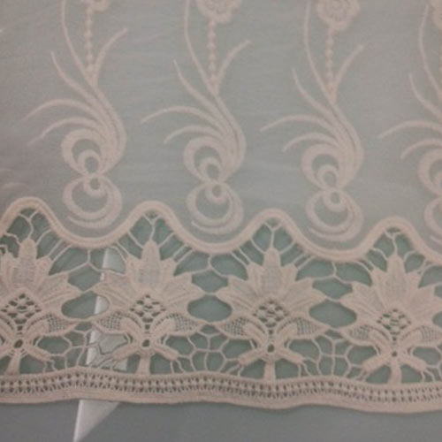Applique Border Embroidery Fabric