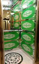 Designer Cabin Mirror Passenger Elevators