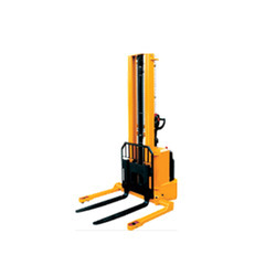 Electric Stacker With Straddle Legs