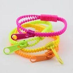 Fluorescent Colors Zipper