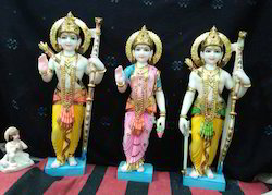 Color Coated Ram Darbar Marble Statue