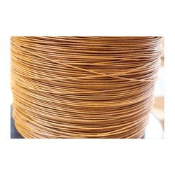 Double Glass Fibre Covered  Round Aluminium Wire