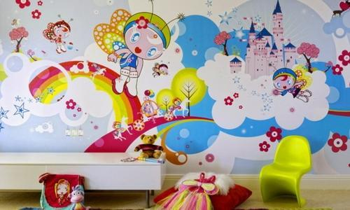 kids room wallpaper bachchon ke liye wallpapers children rh indiamart com kids room wallpaper murals