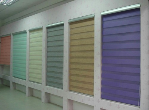 PVC Horizontal Zebra Blinds