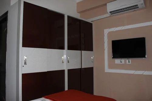 Wooden Wardrobe Interior Design