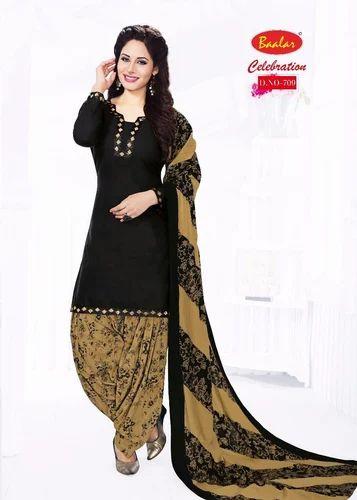 71e1f92ae1 Printed Regular Wear Baalar Dress Material, Rs 499 /set | ID ...
