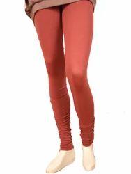 Punay Plain Seamless Visco Lycra Ladies Legging