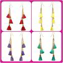 Tassel Earring And Necklace