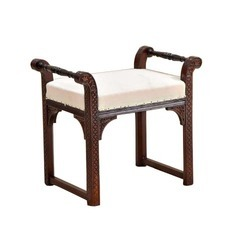 Antique Teakwood Art Chair, Model : AC-27