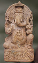 Avignha Intricately Carved Stone Sculpture Of Lord Ganesha