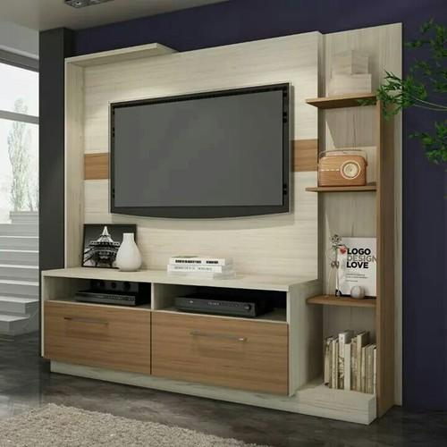 Led Tv Stand Designs Wooden : Led wooden tv stand rs unit sky office systems