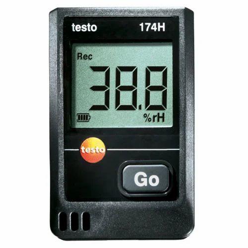 testo 174 h two channel temperature humidity data logger - Temperature Data Logger