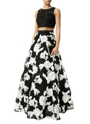 Two Piece Party Gown