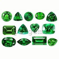 Natural Tsavorite Loose Faceted Mix Shape Gemstones
