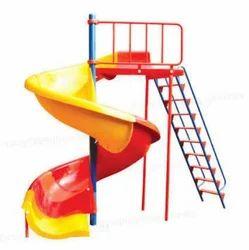 Kids Spiral Slide