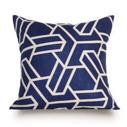 Blue And White Cushions Covers