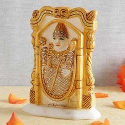Balaji Marble Statue