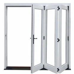 Toughened Glass UPVC Folding Door