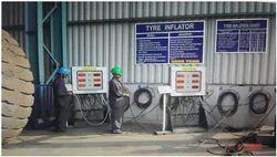 SIX OTR Tyre Inflator Units