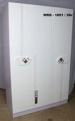 Classic Furn 3 Doors Designer Wardrobe, for Home & Office