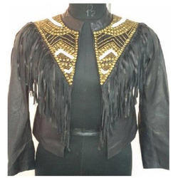 Modern Ladies Leather Jacket