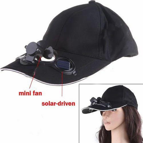 dbdcc7bdb0a Solar Cap with Fan (Cooling Cap) at Rs 250  piece(s)