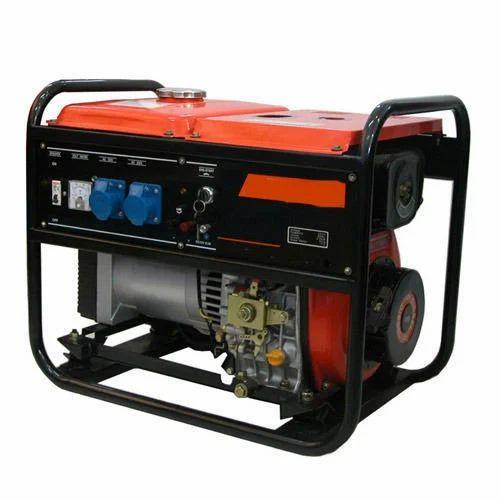 Tragbarer Dieselgenerator mit 8 kVA, Rs 48000 / Einheit Capital Diesel ...