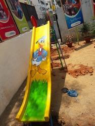 Outdoor Slide With Ladder
