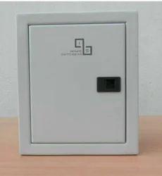 Mild Steel (MS) Double Door MCB Box