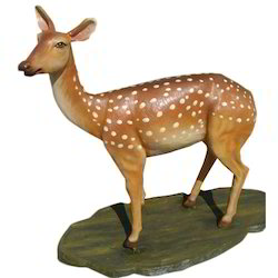 FRP Deer Sculpture