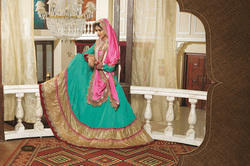 Circular and Flared Lehenga