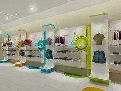 Electronics Showroom Interior Designing