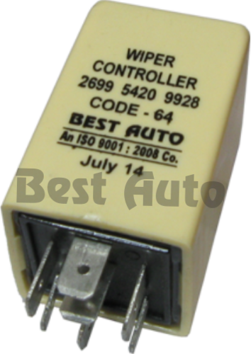 Wiper Relays Wiper Intermittent Controller 7 Pin 12v 24v Relays 269954209908 Mb302380 283954209906 922422 9224 Manufacturer From Delhi