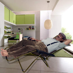 Folding Zero Gravity Lounge Reclining Chair with Adjus