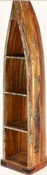 Rustic Book Case - Rustic Furniture India