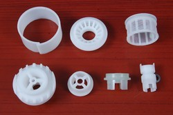 Filter mesh components Delrin and nylon