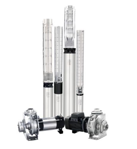Stainless Steel Vertical Multistage Submersible Pump, Power: 0.37 to 55 kW