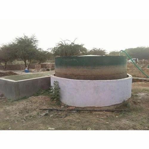 floating biogas plant