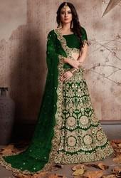 Green Lehenga Choli 67