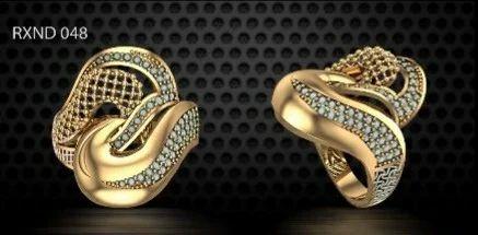 Cz Gold Turkey Ring