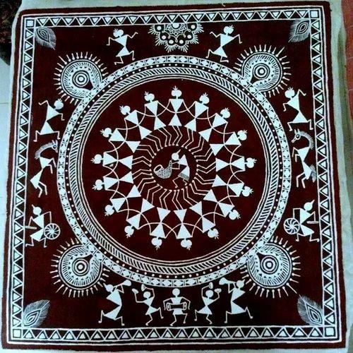 Warli painting at rs 2000 piece tandapeth nagpur id 15192676162 warli painting altavistaventures Image collections