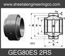 GEG80ES 2RS Needle Roller Bearing