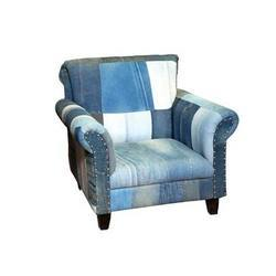 Old Jins Fabric Sofa Chair