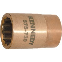 10mm Spark Resistant Socket 1/2 Sq. Dr Al-br